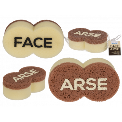 Arse face spons