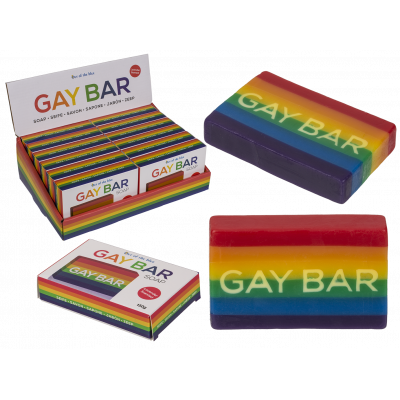 Gay bar grappige zeep