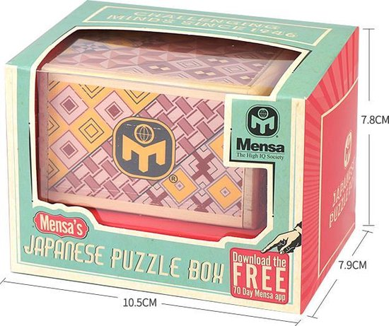 Puzzeldoos Japans secret box